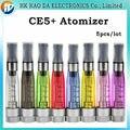EGO Substituível CE5 + Atomizador Cartomizer CE5 além disso clearmizer para E-Cigarro bateria ego atomizador para E Cig líquido Kit 5 pçs/lote