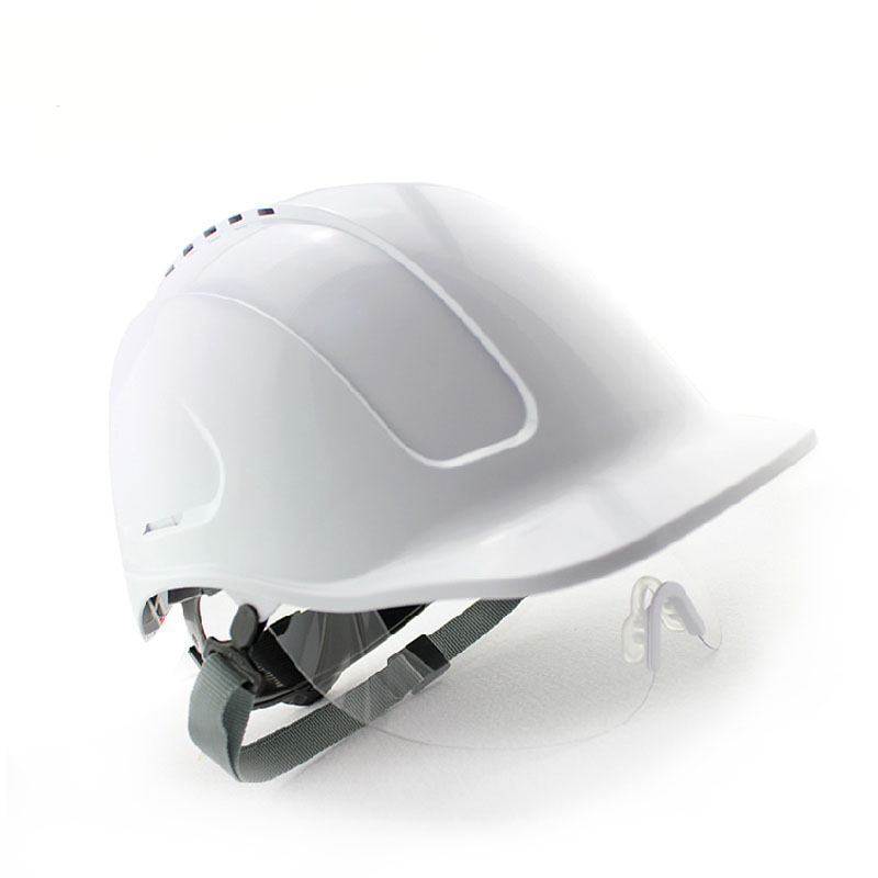 Outdoor Working Safety Helmet ABS Protective Glasses Capacete Hard Hat Construction Working Building Safety Helmet цена