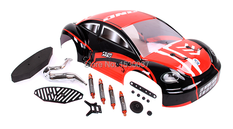 BODY Shell And Conversion Kit (without Tyres) For 1/5 Rovan Baja 5FC Rc Car Parts