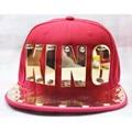 Tidal Baseball Cap Hat Flat Baseball Hiphop Dance Special Golden Plate KING