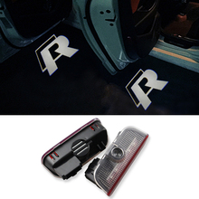 2X Laser LED Door Lights Courtesy Ghost Shadow Light for VW Golf 5 6 7 Jetta MK5 MK6 MK7 Tiguan Passat B6 B7 Scirocco