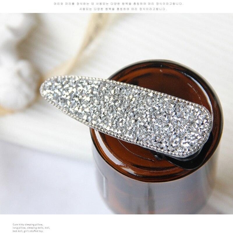 1Pcs Building Crystal Hair Pins Headwear for Women Girls Elegant Korean Hair Clips Pins Barrette Styling Tools Accessories Hot in Women 39 s Hair Accessories from Apparel Accessories