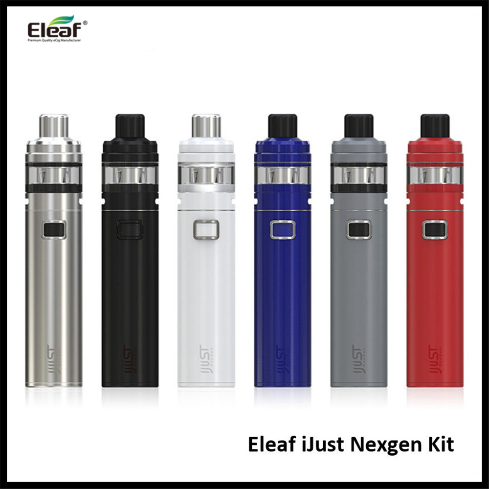 Original Eleaf iJust Nexgen Full Kit Comes With built-in 3000mAh battery and 2ml Tank All-In-One Design with High Quality цена