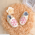 New 2016 Cute Snow Baby First Walkers  Soft Genuine Leather Baby Girls Shoes Girls Shoes #2346