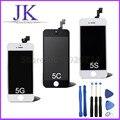 ЖК-Экран Сенсорный Дигитайзер Ассамблеи Для iPhone 5 5C 5S 6 г 6 плюс i6 i5 i5s Замена Внешний Сенсорный Экран Панели случае