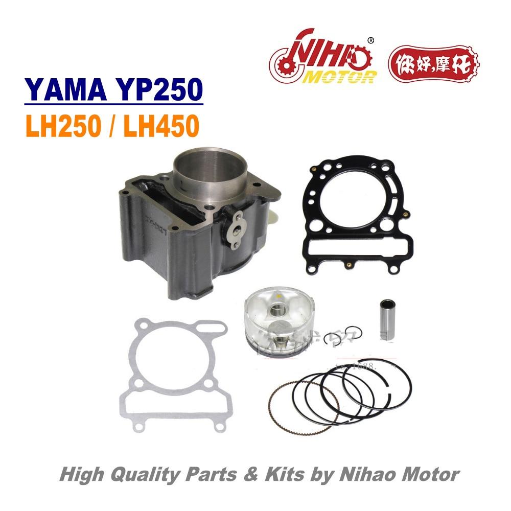 TZ-47 260cc cylindre Assy 70mm LINHAI pièces YP250 LH250 ATV QUAD chinois moto moteur de rechange Nihao moteur