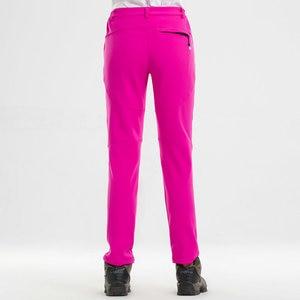 Image 4 - Noflen חורף גברים טיולים מכנסיים חיצוני טרקים Softshell נשים מכנסיים עמיד למים Windproof תרמית קמפינג סקי טיפוס