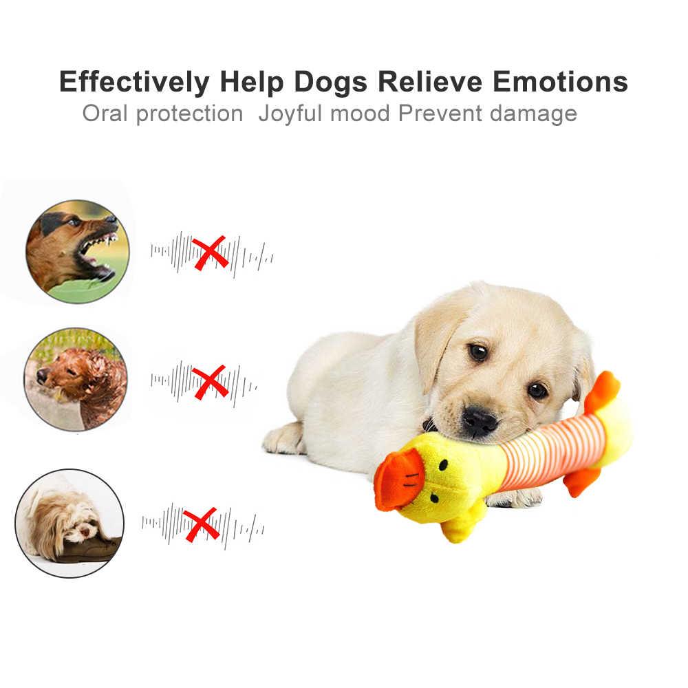 Lindo perro mascota gato de peluche chirriante juguetes para perros con sonido divertido polar durabilidad masticar juguete Molar apto para todas las mascotas elefante pato cerdo