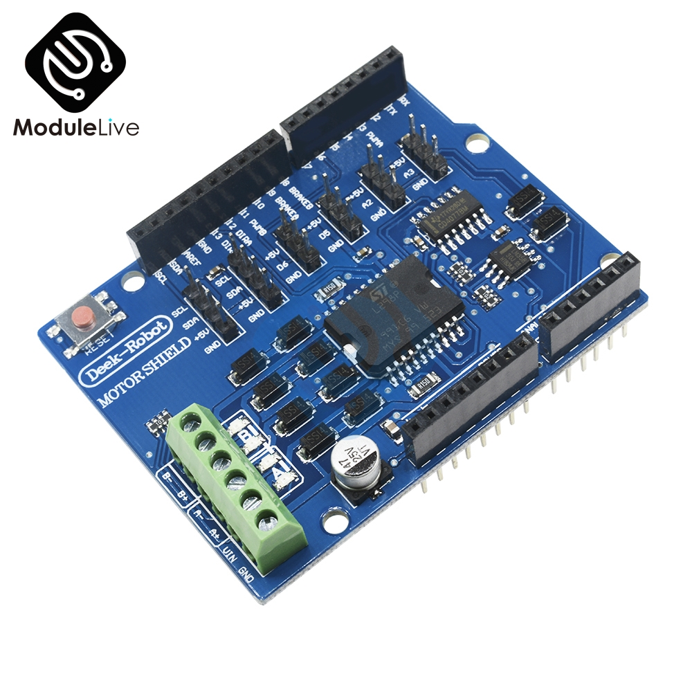 L298P L298 Shield R3 DC Motor Driver Shiled Board Module 2A Dual Full Bridge H-Bridge 2 Way For Arduino UNO Relay 5V 12V 5v 2 channel ir relay shield expansion board for arduino