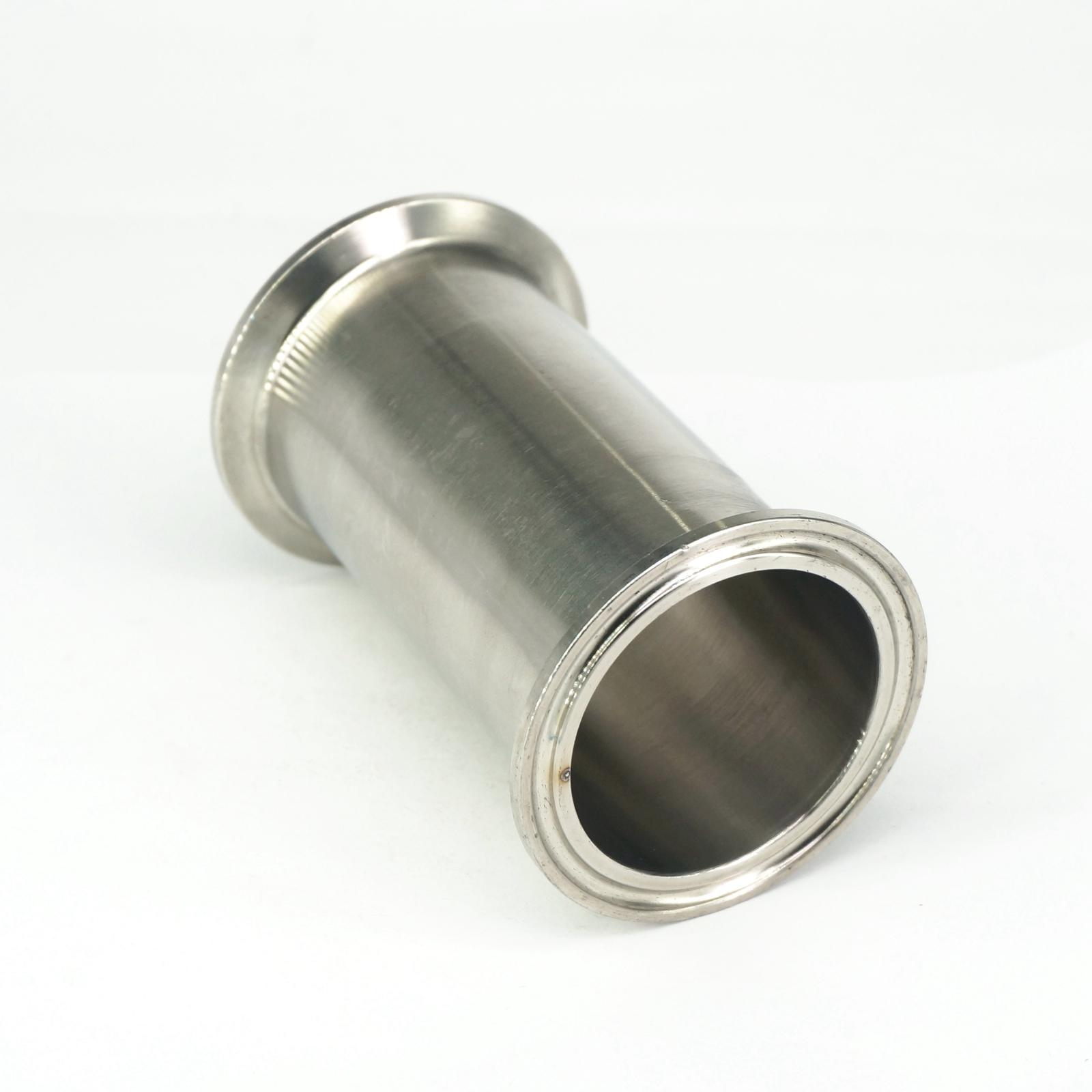 2 Tri Clamp x 51mm OD Tuyau Sanitaire Bobine Tube Longueur 102mm (4) Pour Homebrew SUS304 En Acier Inoxydable