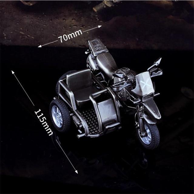d0688043f € 13.1 9% de DESCUENTO|Juego caliente PUBG Sidecar motocicleta Cospaly  disfraces accesorios aleación moto modelo juguete decoración PlayerUnknown  ...