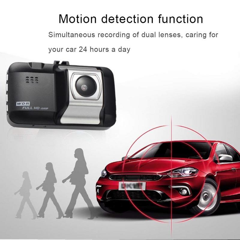 Image 5 - Автомобильный видеорегистратор 1080P дюймов Автомобильная hd камера видеорегистратор 140 широкоугольный Автомобильный видеорегистратор для автомобиля g сенсор