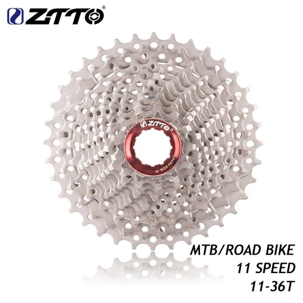 Spor ve Eğlence'ten Kontrapedal Bisiklet'de ZTTO yol bisikleti MTB bisiklet parçası 11s 22S 11 hız Freewheel kaset dişli 11 36 T UT DA K7 GX RIVAL1 Force1 1X sistemi CX title=