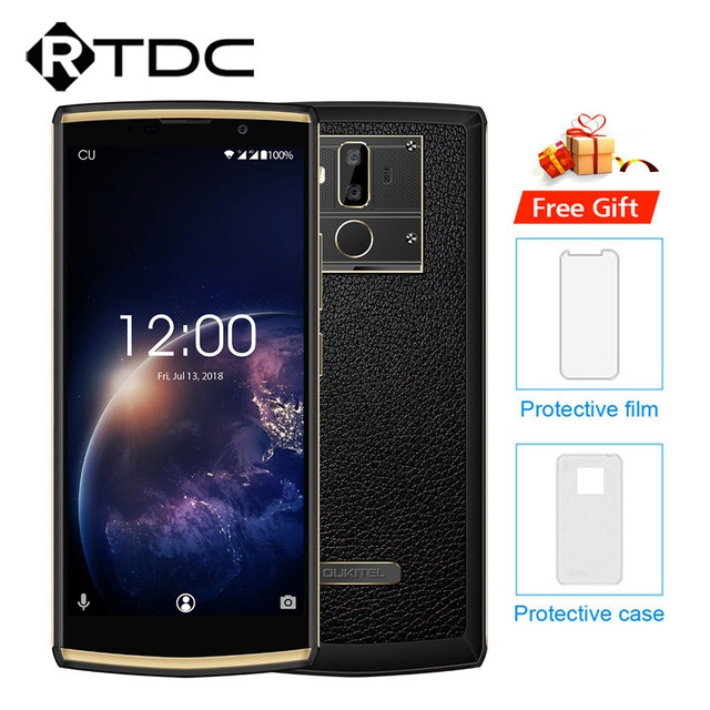 Oukitel K7 Power 18:9 Full Display 6.0''FHD 2GB RAM 16GB ROM MT6750T Octa Core 13MP+5MP 10000mAh 9V/2A Fingerprint Mobile Phone