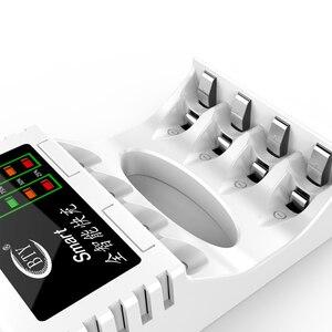 Image 5 - Buyincoins inteligentna szybka ładowarka Led do AA AAA Ni MH ni cd akumulator #258129