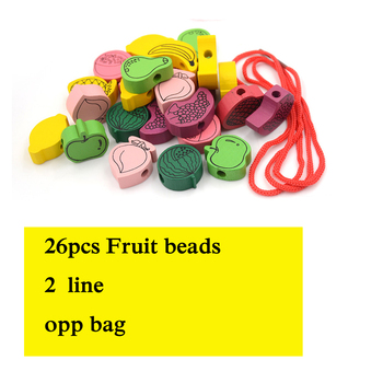Ξύλινα Παιχνίδια Για Παιδιά 3+ Φιγούρες Ζώων Και Φρούτων 26 Τεμάχια Παιχνίδια Χόμπι MSOW