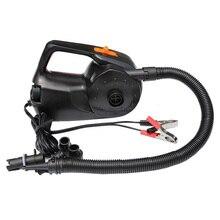 Автомобильный аккумулятор с зажимом 100 Вт, электрический воздушный насос, Мощный насос, Ht-316 для автомобиля, надувная лодка, бассейн, матрас