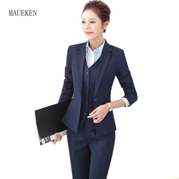 High Quality Women Blazer Long Sleeve Polyester Coats Feminine Office Clothes Elegant Temperament Solid Formal Blazer For Women