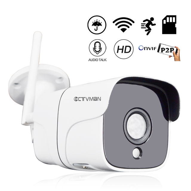 Ctvman Wireless Video Surveillanec Ip Camera Outdoor Wifi 1080p 960p 5mp Camara Wi Fi Two Way Audio Cctv Bullet Mini Kamera