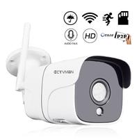 CTVMAN Wireless Video Surveillanec IP Camera Outdoor Wifi 1080P 960P 5mp Camara IP Wi fi Two Way Audio CCTV Bullet Mini Kamera