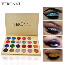 2018 New Glitter EyeShadow Palette Eye Make Up VERONNI Professional Eyeshadow Matte powder shadow Pigments