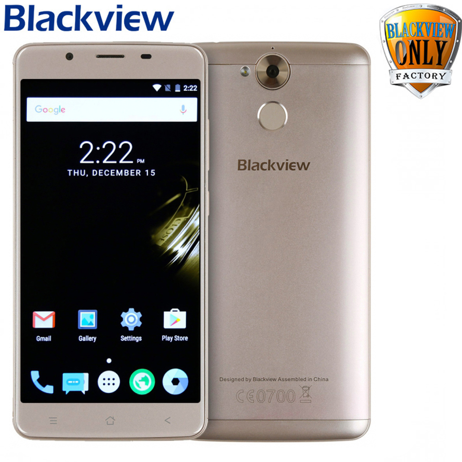 Newest Blackview P2 Lite smartphone 3GB RAM 32GB ROM Android 7.0 Cell Phone MT6753 Octa Core 5.5