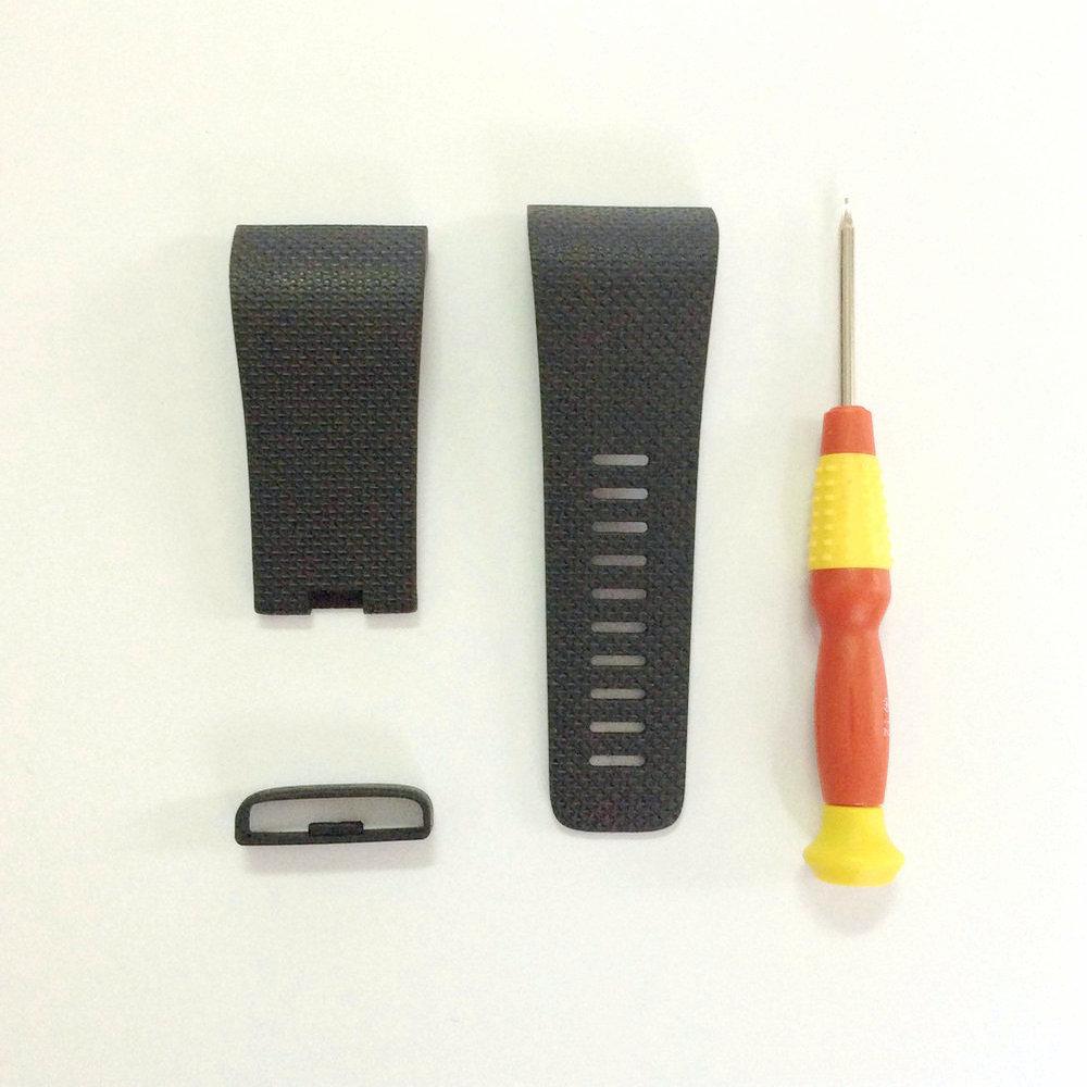Prix pour MLLSE 50 Pcs/Lot bateau rapide De Réparation Pour Fitbit Surge Remplacement Bandes strap cassé SmartWatch bande Bracelet avec tournevis gratuit