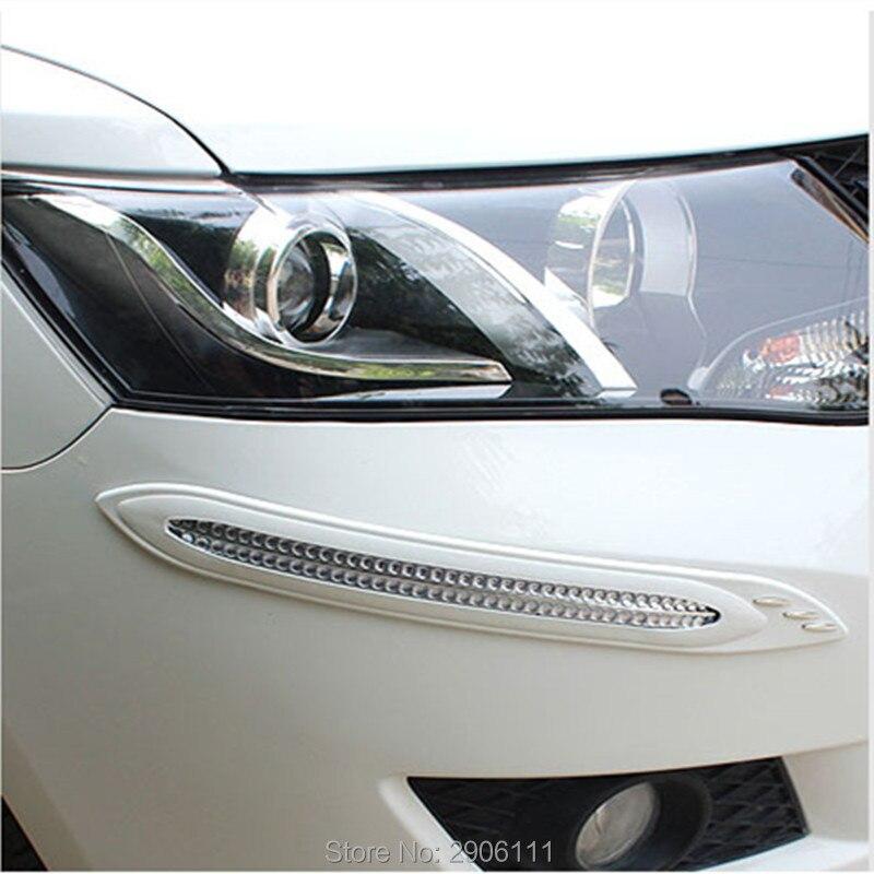 4pcs car anti-collision strip bumper protector Car crash bar anti-rub for infiniti fx35 q50 g35 g37 qx70 qx50 fx fx37 m35 q70 nbr anti collision angle guard for kids grey 4 pcs