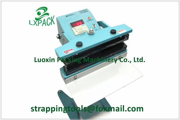 LX-PACK Lowest Factory Price Foot Pedal Impulse Sealer heat sealing machine Plastic Bag sealer 300-1400mm PEDAL SEALER wholesale price foot control pedal for welding machine
