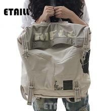БОЛЬШОЙ винтажный холщовый женский рюкзак в консервативном стиле, школьные сумки, рюкзак для путешествий, известный бренд, мужской рюкзак, мужской рюкзак