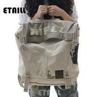 New 2016 Large Capacity Vintage Canvas Women Bag Shoulder Bag Backpack Preppy Style School Bags Travel