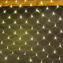 8 Modes 110V/220V Super Bright LED Net Mesh String Light Xmas Lights Garden Wedding Holiday Lighting 1.5Mx1.5M 3Mx2M 4.2Mx1.6M