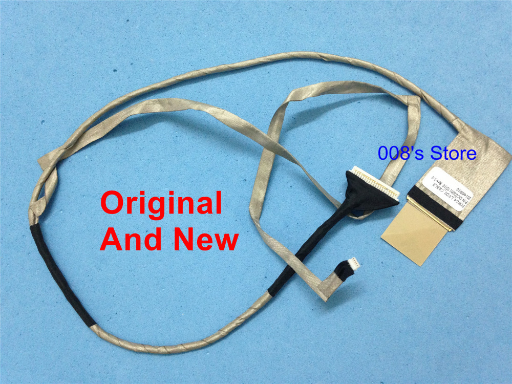 New Piwg4 Lcd Cable For Lenovo Ideapad G770 G780 17.3 Dc020017d10 Laptop Video Display Screen Data Wire Line Flex Clearance Price Computer & Office