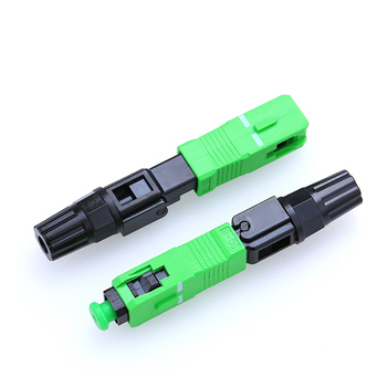 50 pçs/lote Alta Qualidade SC/APC Conector De Fibra Óptica Conector rápido SC Incorporado APC Conector de fibra FTTH Frio