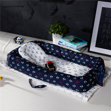 Baby Nest Kids Portable Hand Strap And Washable Crib  Baby Crib Nursery Travel Folding Bed For 0-24 M Newborn Baby Bed natural straw hand knitting baby portable bed crib breathable outdoor travel cars baby cradle bed protector for kids