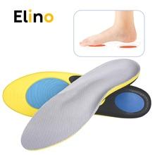 купить Elino Orthopedic Insoles Arch Support for Flat Feet Shock Absorption Sport Shoe Pads Insert Orthotic Feet Cushion for Men Women по цене 607.67 рублей