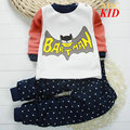 Зима теплая руно детская одежда Мультфильм панда шаблон новогодние костюмы для детей девушки одежда наборы детские pijamas KD176