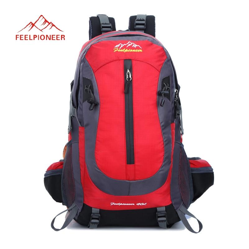 Prix pour FEEL PIONEER 40L étanche femmes & hommes voyage sac à dos en plein air camping mochilas escalade randonnée sac à dos sac à dos sport sac à dos