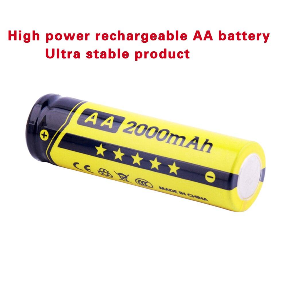 Baterias Recarregáveis baterias 1.2 v ni-mh 2000 Capacidade Nominal : 2000mah