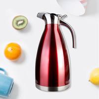 2018 Insulated pots supply high grade European stainless steel vacuum insulation pot brand name thermos bottle gift