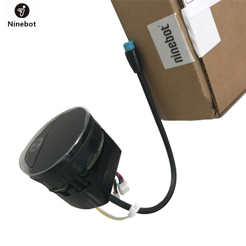Original Painel Para Ninebot ES1 ES2 ES4 Kickscooter Elétrica Inteligente Dobrável Skate Hoverboard Traço Placa De Acessórios