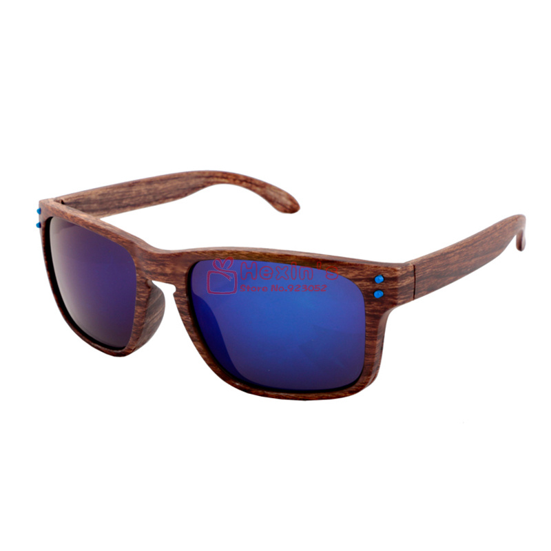 Plastic Framed Fashion Glasses : Hot Selling Brand Wood Sunglasses Men Fashion Brand ...