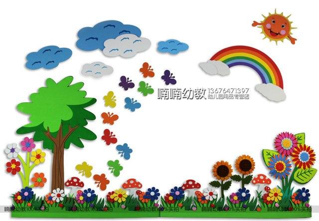 Kindergarten Environment Decoration Scene Layout Design Portfolio