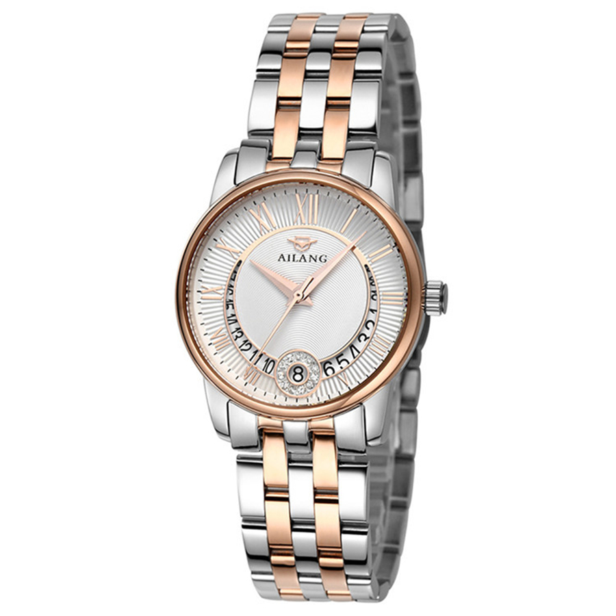 Famous Luxury brand AILANG Mechanical Watch Calendar Wrist watch Rose Gold  Women automatic Watch Relogio Feminino Montre FemmeFamous Luxury brand AILANG Mechanical Watch Calendar Wrist watch Rose Gold  Women automatic Watch Relogio Feminino Montre Femme