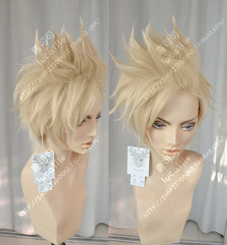 Need Styled +Cap Track Final Fantasy XV Prompto Argentum Cosplay Costume Wig