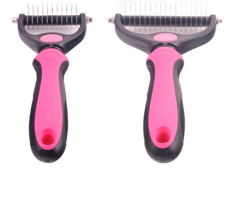 Hair Detangler Comb for Dogs & Cats 25 » Pets Impress