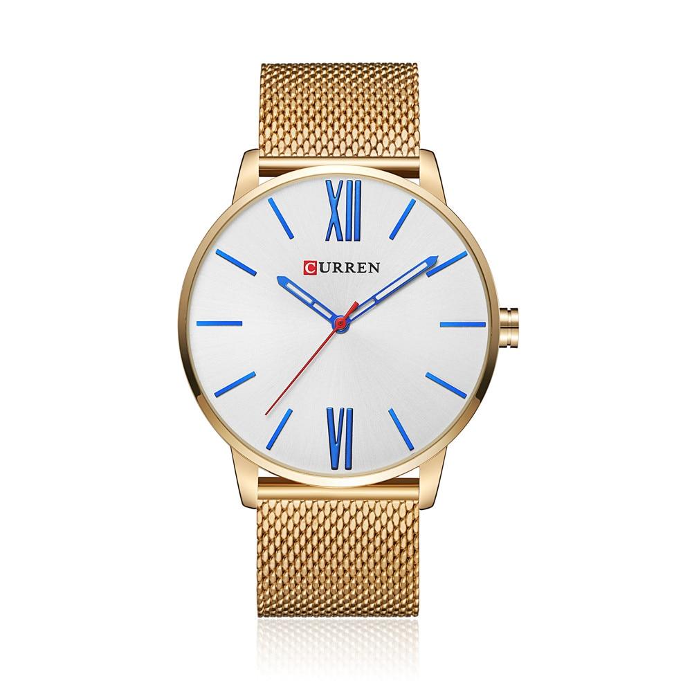 2018 CURREN Brand Watch Ерлер сәнді сәнді бизнес - Ерлердің сағаттары - фото 4