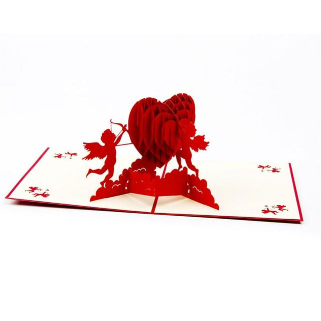 Cupid 3d pop up greeting card handmade gift card for birthday cupid 3d pop up greeting card handmade gift card for birthday wedding anniversary merry christmas valentines m4hsunfo