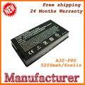 Alta qualidade laptop baterias para Asus A32-F80 A32-F80A A32-F80H frete grátis