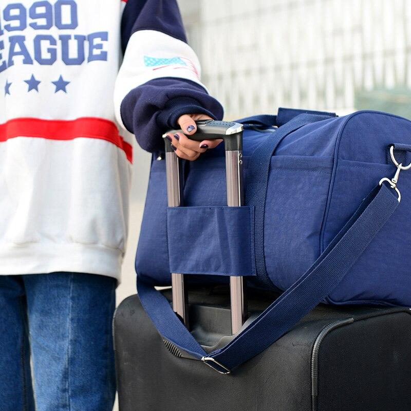 2019 New Fashion Travel Bag Stor Kapacitet Vattentät Nylon Dam Tote - Väskor för bagage och resor - Foto 3